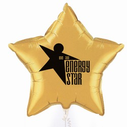eh023 - Energy Conservation 36&quot;Microfoil Star Balloon , Energy Conservation Sticky Lightbulb Notepad. 2 x 3.5. 50 sheet. Think Energy EfficiencyEnergy Conservation Handouts, Energy Conservation Gift, Energy Conservation Incentive