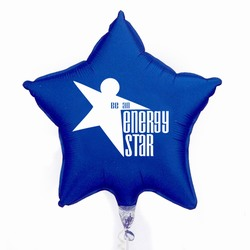 "eh023 - Energy Conservation 36""Microfoil Star Balloon , Energy Conservation Sticky Lightbulb Notepad. 2 x 3.5. 50 sheet. Think Energy EfficiencyEnergy Conservation Handouts, Energy Conservation Gift, Energy Conservation Incentive"