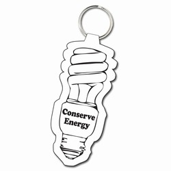 eh035 - Energy Conservation 3&quot; Soft Keytag, Energy Conservation Handouts, Energy Conservation Gift, Energy Conservation Incentive