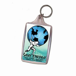 eh313-03 - Energy Conservation Key Ring, Energy Conservation Handouts, Energy Conservation Gift, Energy Conservation Incentive