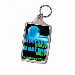 eh313-05 - Energy Conservation Key Ring, Energy Conservation Handouts, Energy Conservation Gift, Energy Conservation Incentive