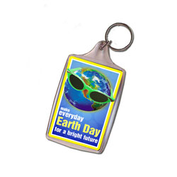 AI-ehkey313-07 - Earth Day Key Chain, Earth Day Handouts, Earth Day Gift, Conservation Incentive