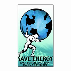 em003 - Energy Conservation Magnet, Energy Conservation Award Lapel Pin. 7/8 brass plated. Energy Star message. Energy Conservation Handouts, Energy Conservation Gift, Energy Conservation Incentive