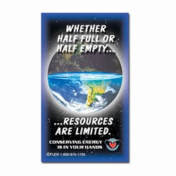 em008 - Energy Conservation Magnet, Energy Conservation Handouts, Energy Conservation Gift, Energy Conservation Incentive