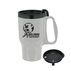 eh008-03 - Energy Conservation Plastic Travel Mug 16oz., Energy Conservation Handouts, Energy Conservation Gift, Energy Conservation Incentive