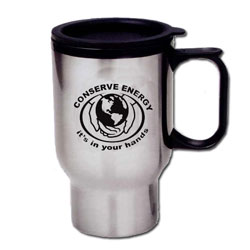 eh305 - Energy Conservation Travel Mug, Energy Conservation Handouts, Energy Conservation Gift, Energy Conservation Incentive