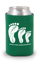 AI-ehmug350 - Reduce Your Carbon Footprint Coolie Can Cover, Recycling Incentive, Recycling Promotional Ideas, Recycling Promo Gifts, Recycling Gifts for Tradeshows, recycling ad specialties