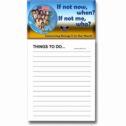 eh007 - Energy Conservation Magnet Notepad, Energy Conservation Handouts, Energy Conservation Gift, Energy Conservation Incentive