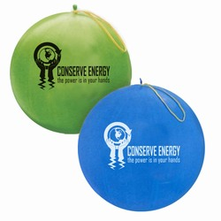 "eh023-03 - Energy Conservation 16"" Punch Balls, Energy Conservation Sticky Lightbulb Notepad. 2 x 3.5. 50 sheet. Think Energy EfficiencyEnergy Conservation Handouts, Energy Conservation Gift, Energy Conservation Incentive"