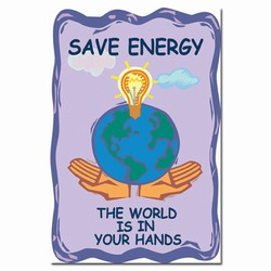 ep103 - Energy Conservation Poster, Energy Conservation Plackard, Energy Conservation Sign, Save Energy Sign, Energy Waste Sign, Energy Savings Sign Energy Conservation Bulletin, Energy Conservation Posters