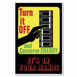 ep264 - Energy Conservation Poster, Energy Conservation Plackard, Energy Conservation Sign, Save Energy Sign, Energy Waste Sign, Energy Savings Sign Energy Conservation Bulletin, Energy Conservation Posters