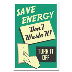 AI-ep457 - Save Energy Poster