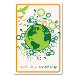 AI-ep509 - Earth Day Every Day Poster