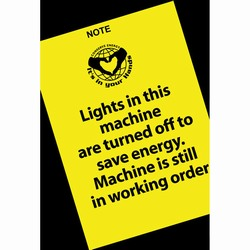 eschd201-7 - Energy Conservation School Decals, Energy School Handouts, Energy Conservation School Items, Energy Conservation School Ideas