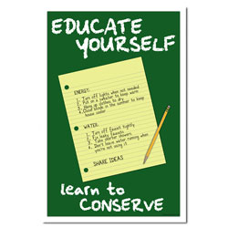 eschp151 - Energy Conservation School Poster, Energy School Handouts, Energy Conservation School Items, Energy Conservation School Ideas