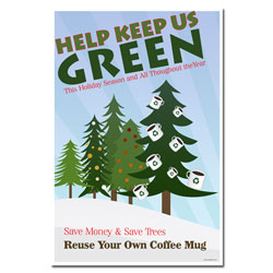 AI-hp503 - Green Holiday Conservation Poster