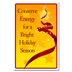 AI-hp504 - Bright Holiday Conservation Poster