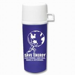 AI-prg0010-07 - Energy Conservation 16oz Bottle w/Cup, Energy Conservation Handouts, Energy Conservation Gift, Energy Conservation Incentive