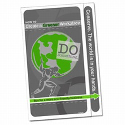 AI-prg0010-08 - Create a Greener Workplace BOOKLET, Energy Pamphlet, Energy Conservation Booklet, Energy Home Savings Booklet, Energy Reducation At Home, Stop Energy Waste at home, Stop Corporate Energy Waste, Energy Savings Booklet