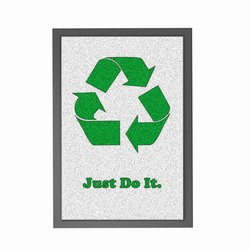 AI-prg003-06 - Just Do It Recycling Mat, Recycling Promotional Ideas, Recycling Promo Gifts, Recycling Gifts for Tradeshows, recycling ad specialties