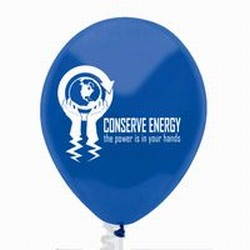 "AI-prg007-08 - Energy 9"" Latex Balloon, Energy Conservation Sticky Lightbulb Notepad. 2 x 3.5. 50 sheet. Think Energy EfficiencyEnergy Conservation Handouts, Energy Conservation Gift, Energy Conservation Incentive"