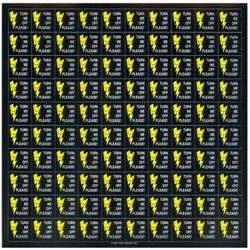 AI-prg009-02 - Energy Conservation Decals, Turn Me Off Decals' 1 Square Decals,Energy Conservation Stickers, Energy Stickers, Energy Savings Stickers, Butt-cut Energy Labels, Vinyl Energy Decals, Vinyl Energy Labels, Vinyl Energy Stickers