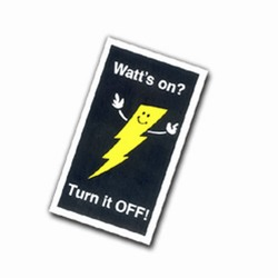 AI-prg009-04 - Energy Conservation Magnet, Energy Conservation Handouts, Energy Conservation Gift, Energy Conservation Incentive