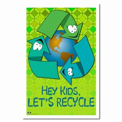 AI-prg012-01 - Recycling Poster, Recycling placard, recycling sign, recycling memo, recycling post, recycling image, recycling message