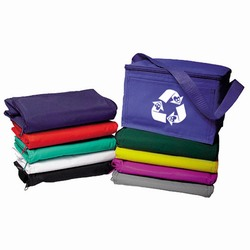 AI-prg012-03 - Recycling Vinyl 6-pack Cooler, Recycling Incentive, Recycling Promotional Ideas, Recycling Promo Gifts, Recycling Gifts for Tradeshows, recycling ad specialties