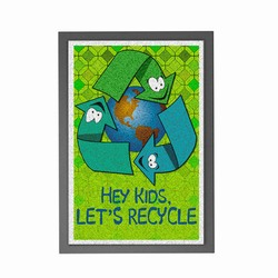 AI-prg012-08 - Recycling Mat, Recycling Incentive, Recycling Promotional Ideas, Recycling Promo Gifts, Recycling Gifts for Tradeshows, recycling ad specialties