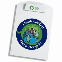 AI-prg013-04 - Recycling Clipboard, Water Conservation Handouts, Energy Conservation Gift, Energy Conservation Incentive