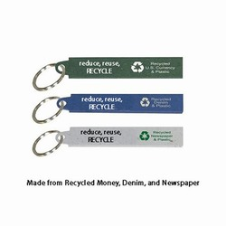 AI-prg014-08 - Recycling Handout Keyring, Recycling Incentive, Recycling Promotional Ideas, Recycling Promo Gifts, Recycling Gifts for Tradeshows, recycling ad specialties