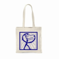 "qh120 - Quality Process Canvas Tote 16"" X 15"", Energy Conservation Handouts, Energy Conservation Gift, Energy Conservation Incentive"