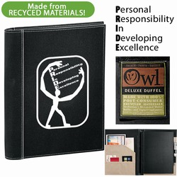 qh098 - Quality Process 51% Recycled Journal, Energy Conservation Handouts, Energy Conservation Gift, Energy Conservation Incentive