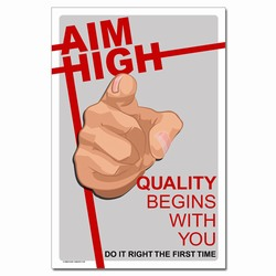 Quality Assurance Process and Quality Control Posters
