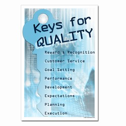 qp309 - Quality Process Poster, Quality Process Placard, Quality Process Messages, Quality Process Sign, Quality Process Help, Quality Process Billboards
