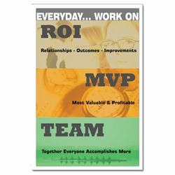 AI-qp327 - Everyday Work On Roi MVP TEAM Quality Process Poster