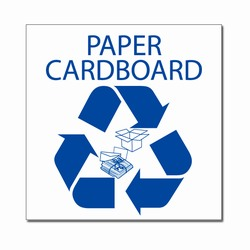 rd032-03 - LARGE 9&quot; x 9&quot; Recycling Decal , Recycling Stickers, Butt-cut Recycling Labels, Vinyl Recycling Decals, Vinyl Recycling Labels, Vinyl Recycling Stickers