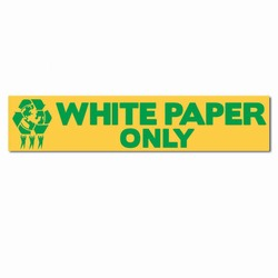 rd142 - Recycling Decal, Recycling Stickers, Butt-cut Recycling Labels, Vinyl Recycling Decals, Vinyl Recycling Labels, Vinyl Recycling Stickers