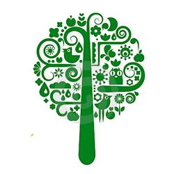 AI-rec-04- Recycle Tree Logo Design, Eco T shirt, Eco mug, Eco Decal, Eco Friendly