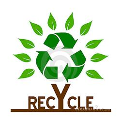 AI-rec-24- Recycle Tree Logo Design, Recycle T shirt, Recycle mug, Recycle Decal, Eco Friendly