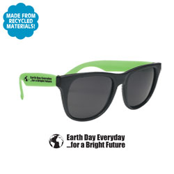 AI-rhapp048 - Earth Day Sunglasses, Earth Day Incentive, Recycling Promotional Ideas, Recycling Promo Gifts, Recycling Gifts for Tradeshows, recycling ad specialties