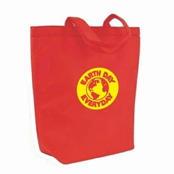 "AI-rhbag028-3 - Recycling Non Woven Tote - Recycling Brown Paper Shopping Bag 8"" x 10"", Recycling Incentive, Recycling Promotional Ideas, Recycling Promo Gifts, Recycling Gifts for Tradeshows, recycling ad specialties"