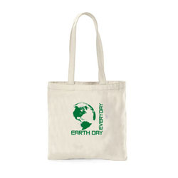 "AI-rhbag030 - Earth Day Every Day Canvas Tote 16"" X 15"", Earth Day Handouts, Earth Day Gift, Earth Day Bag, Earth Day Idea"