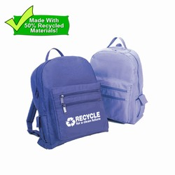 rh060-05 - Recycling Eco-Friendly Backpack, Recycling Promo Gifts, Recycling Gifts for Tradeshows, recycling ad specialties