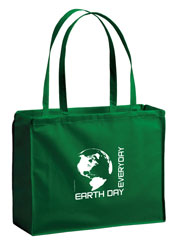 AI-rhbag070-01 Earth Day Everyday Tote Bag 16x12, Recycling Incentive, Recycling Promotional Ideas, Recycling Promo Gifts, Recycling Gifts for Tradeshows, recycling ad specialties