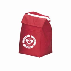 rh253 - Recycling Lunch Bag, Recycling Bag, Recycling message bag, Recycling tote bag, recycling canvas tote, recycling message bag, recycling lunch bag