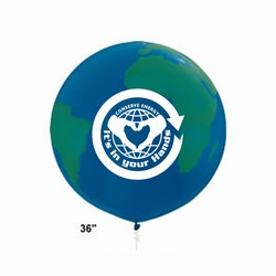 rh008 - Recycling Handout Balloons, Recycling Incentive, Recycling Promotional Ideas, Recycling Promo Gifts, Recycling Gifts for Tradeshows, recycling ad specialties