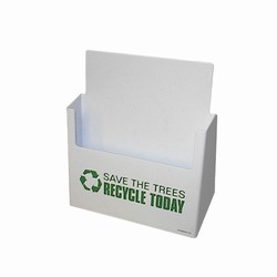 rh255 - Recycling Desktop Bin, Recycling Bag, Recycling message bag, Recycling tote bag, recycling canvas tote, recycling message bag, recycling lunch bag
