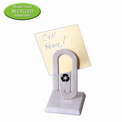 rh036-07 - Recycling PaperClip Message Holder, Recycling Incentive, Recycling Promotional Ideas, Recycling Promo Gifts, Recycling Gifts for Tradeshows, recycling ad specialties